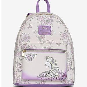 Loungefly Disney Rapunzel Sketch mini back…